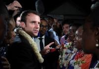 Emmanuel Macron Guyane