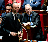Edouard Philippe chers collègues